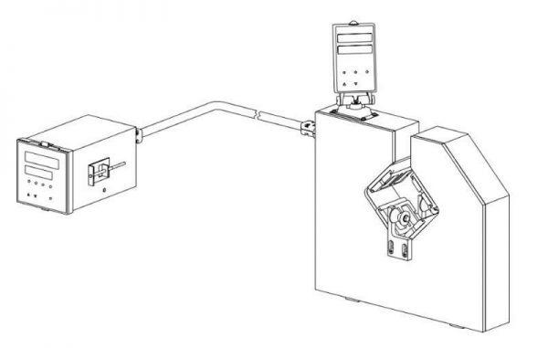 Double Axises Diameter Laser Gauge